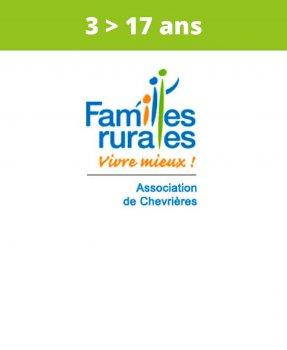 Association<br>Familles Rurales<br>Chevrières<br>(3 > 17 ans)